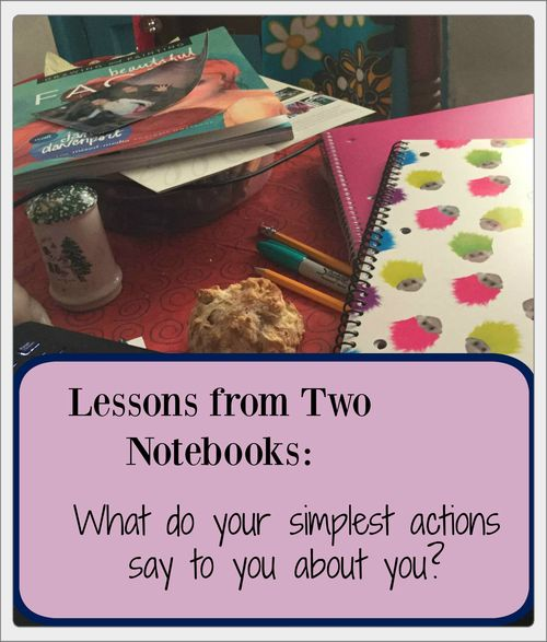 Lessons from Two Notebooks with border