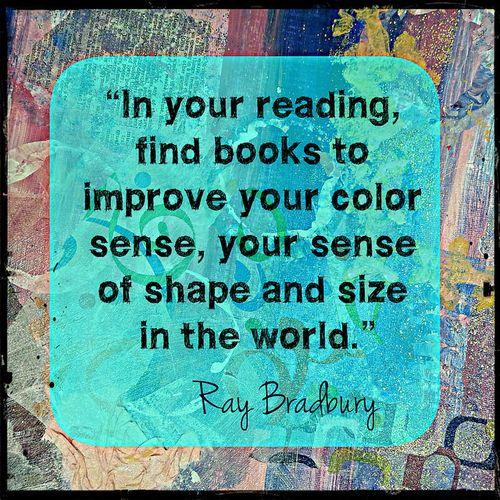 Ray Bradbury Reading image