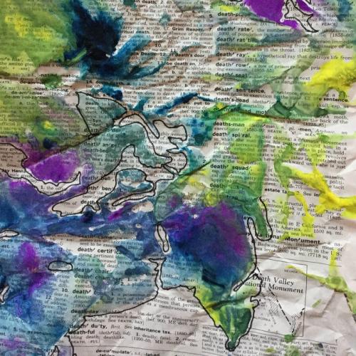 Art journal more death
