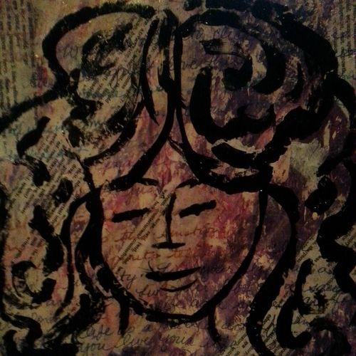 Day 3 art journal wisdom matilde in process 2