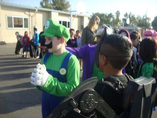 Samuel as Mario 2011