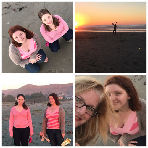Sunset with my girls on Friday was heavenly AND QUICK! I even sneaked in a mother-daughter selfie.