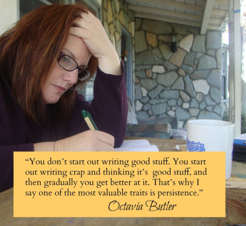 Inspiration from Literary Granny Octavia Butler - on Persistence in Writing