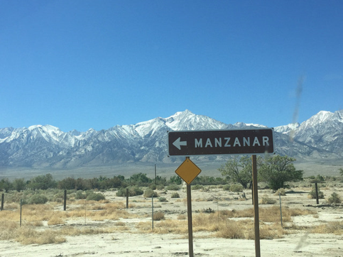"Many don't realize the history of ""relocation camps"" during World War 2 here in the US. In the Eastern Sierras, Japanese residents of the United States (including citizens) were involuntarily moved to places such as Manzanar."