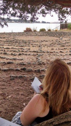 Writing at the labyrinth