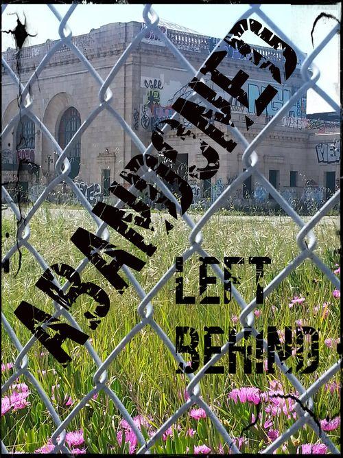 Abandoned left behind