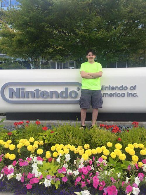 Samuel at Nintendo