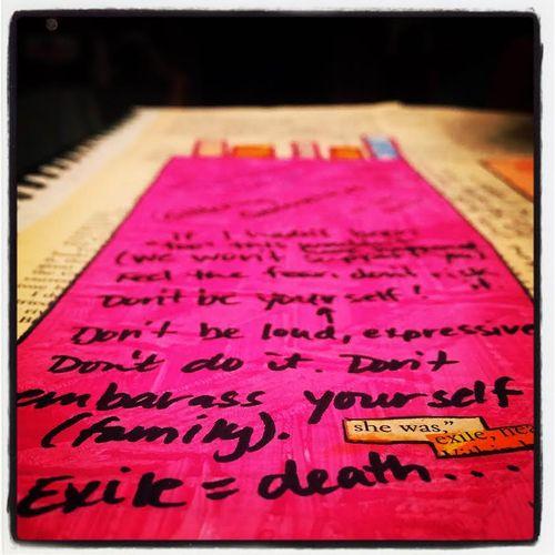 Aedm nov 12 art journal exile