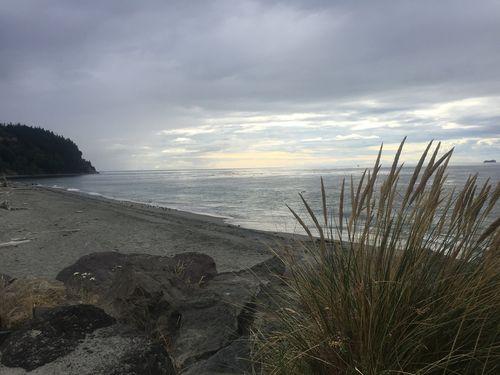 Genuine wish beach scene