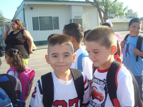 Samuel in 1st grade