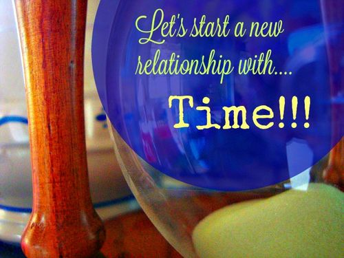 Lets start a new relationship with time
