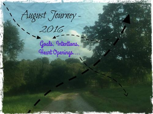 August Journey Arrows etc w border