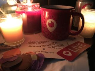 GIFT OPENED periscope mug gift