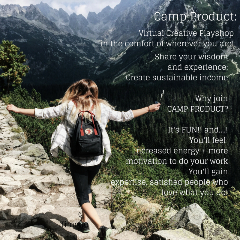 Why join camp product