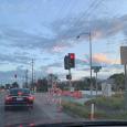 Square road closed